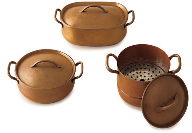 ババグーリ銅鍋 3種