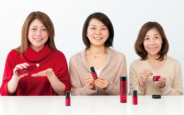 大里みどりさん、倉科起乃さん、植村明美さん