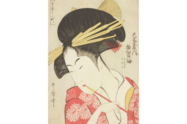 江戸の誰もが憧れた 美人画オールスターが揃う。太田記念美術館『花 …