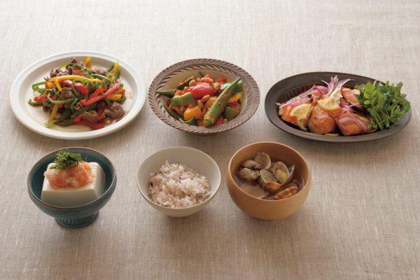 1回の食事で肉と魚をたっぷり、もっちりプルプルな美肌に。