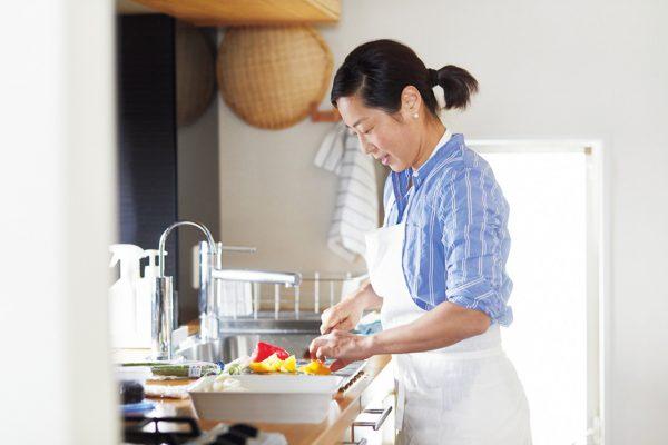 無駄な出費を減らす、料理研究家、牛尾理恵さんの節約術。