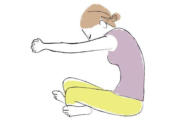 頭と体をほぐす寝る前のマッサージで、睡眠の質を上げる。