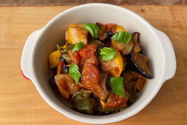 甘味が凝縮した干し野菜で作る、ラタトゥイユ【ビジンサマレシピ】